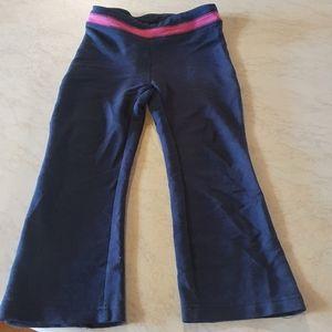 Size 3 Little Lady bootleg styled yoga gym pants
